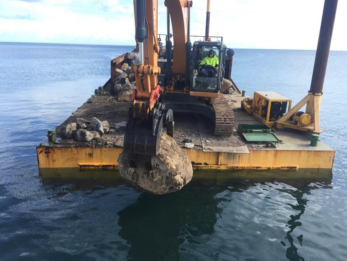 P W Johnson Marine Constructions